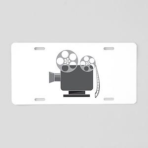 Projector Aluminum License Plate