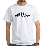 Evolution of Capoeira White T-Shirt