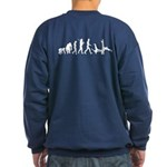 Evolution Of Capoeira Sweatshirt (dark)