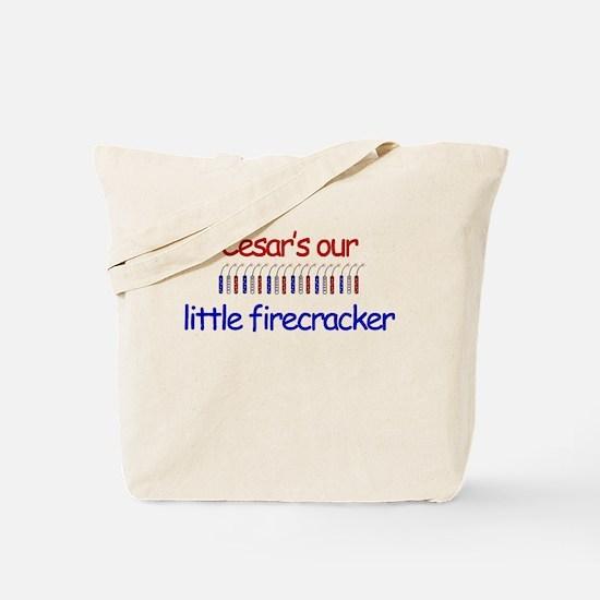 Cesar Firecracker Tote Bag
