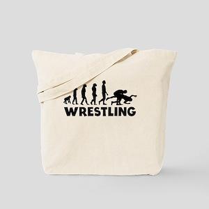 Wrestling Evolution Tote Bag