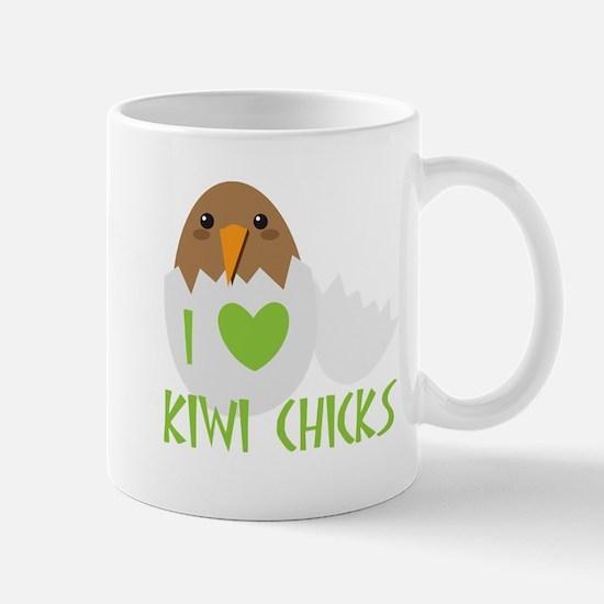 I love KIWI chicks Mugs