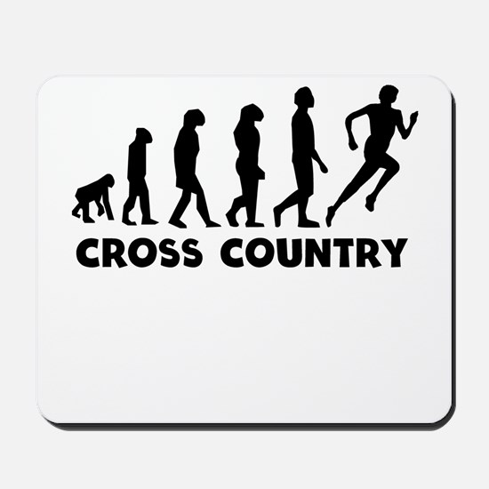 Cross Country Evolution Mousepad