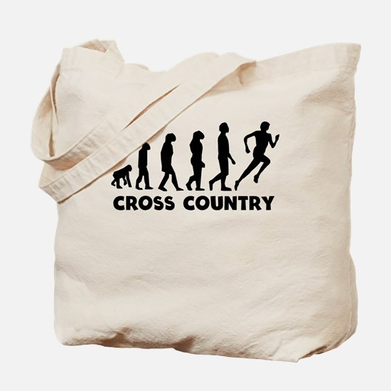 Cross Country Evolution Tote Bag
