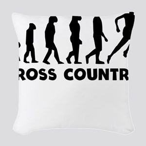 Cross Country Evolution Woven Throw Pillow