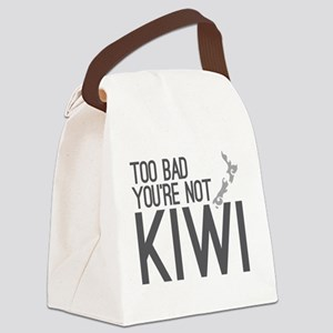Too bad you're not KIWI! Canvas Lunch Bag
