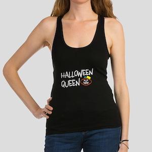Halloween Queen Racerback Tank Top