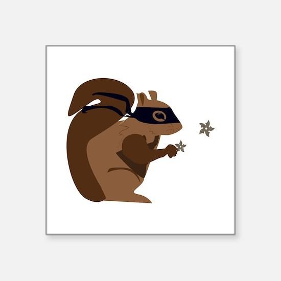 Masked Squirrel Sticker