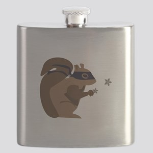 Masked Squirrel Flask