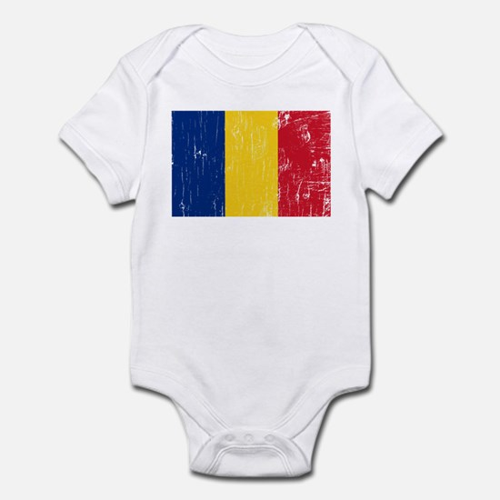 Vintage Romania Infant Bodysuit