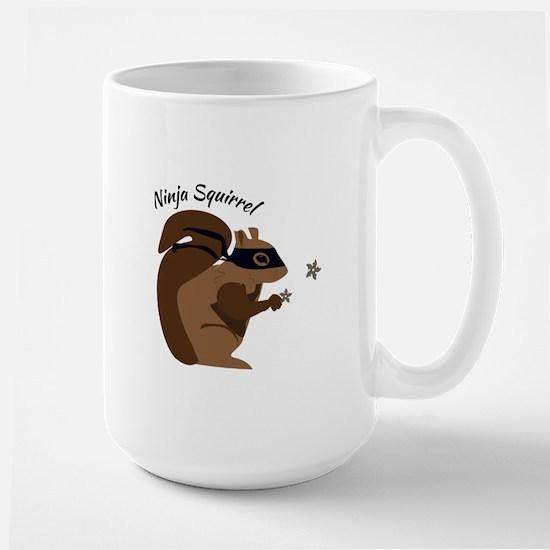 Ninja Squirrel Mugs
