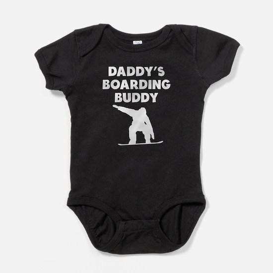 Daddys Boarding Buddy Baby Bodysuit