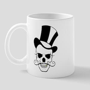 SKULL and TOP HAT Mug