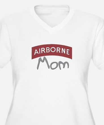 """Aiirborne Mom (red)"" T-Shirt"