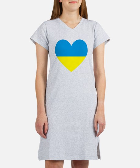 Cute Ukraine Women's Nightshirt