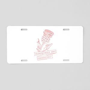 Garden Of Needin Aluminum License Plate