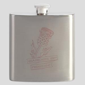 Garden Of Needin Flask
