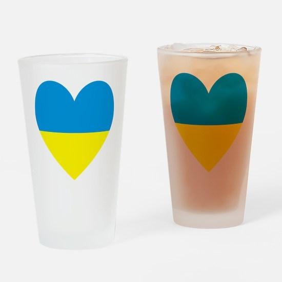 Cute Ukraine Drinking Glass