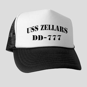 USS ZELLARS Trucker Hat