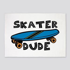Skater Dude 5'x7'Area Rug
