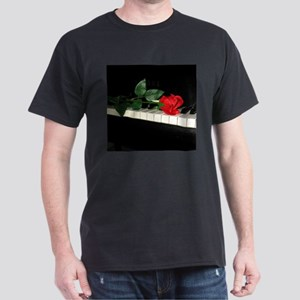 Rose on Piano 2 T-Shirt