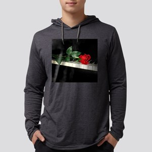 Rose on Piano 2 Long Sleeve T-Shirt