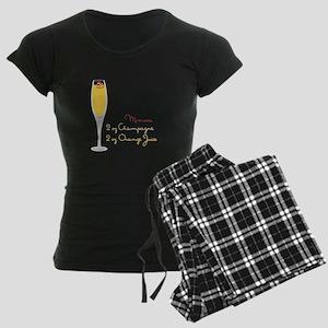 Mimosa Recipe Pajamas