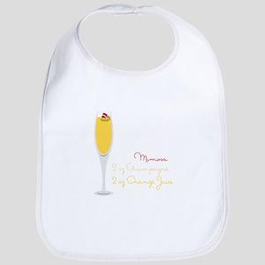 Mimosa Recipe Bib