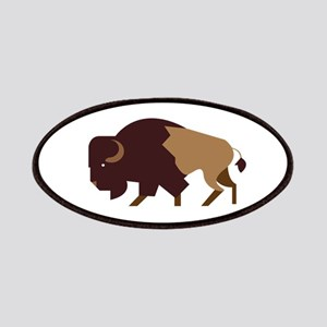 Buffalo Bison Patches