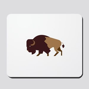 Buffalo Bison Mousepad