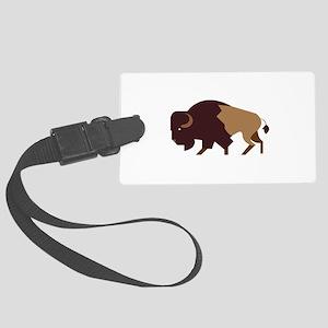 Buffalo Bison Luggage Tag