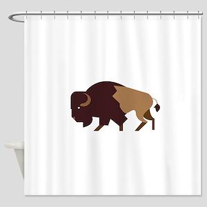 Buffalo Bison Shower Curtain