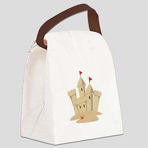 Sandcastle Canvas Lunch Bag