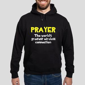Prayer wireless connection Hoodie (dark)