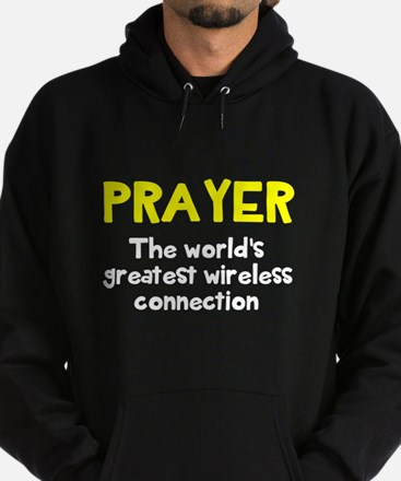 Prayer wireless connection Hoodie (dark)