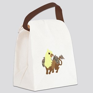 Creatures Canvas Lunch Bag