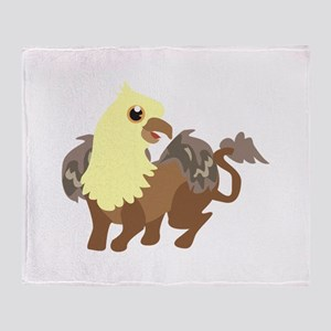 Creatures Throw Blanket