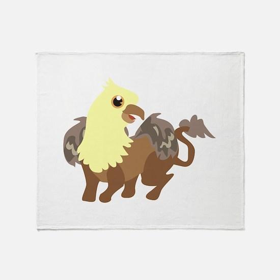 Creatures Throw Blanket