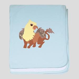 Creatures baby blanket