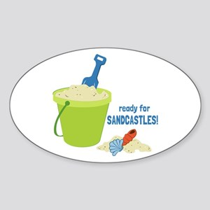 Ready For Sandcastles! Sticker