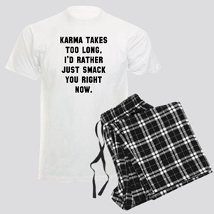 Karma takes too long Men's Light Pajamas