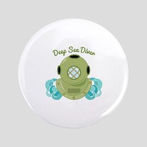 """Deep Sea Diver 3.5"""" Button"""