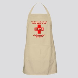 Nurse knows Apron