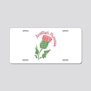 Scottish Princess Aluminum License Plate
