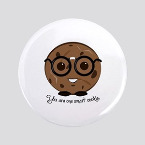 "One Smart Cookies 3.5"" Button"