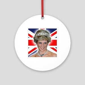 HRH Princess Diana Professional Photo Ornament (Ro