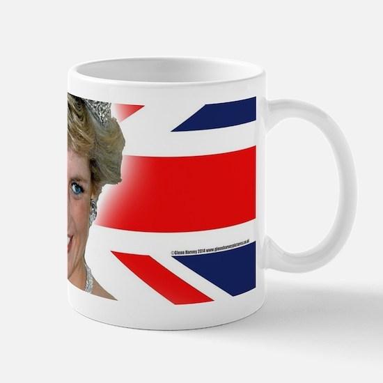 HRH Princess Diana Professional Photo Mugs