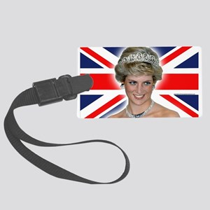 HRH Princess Diana Professional Photo Large Luggag