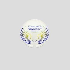 Angel Wings Mini Button
