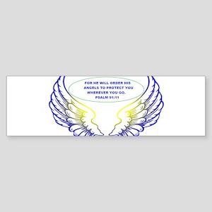 Angel Wings Bumper Sticker